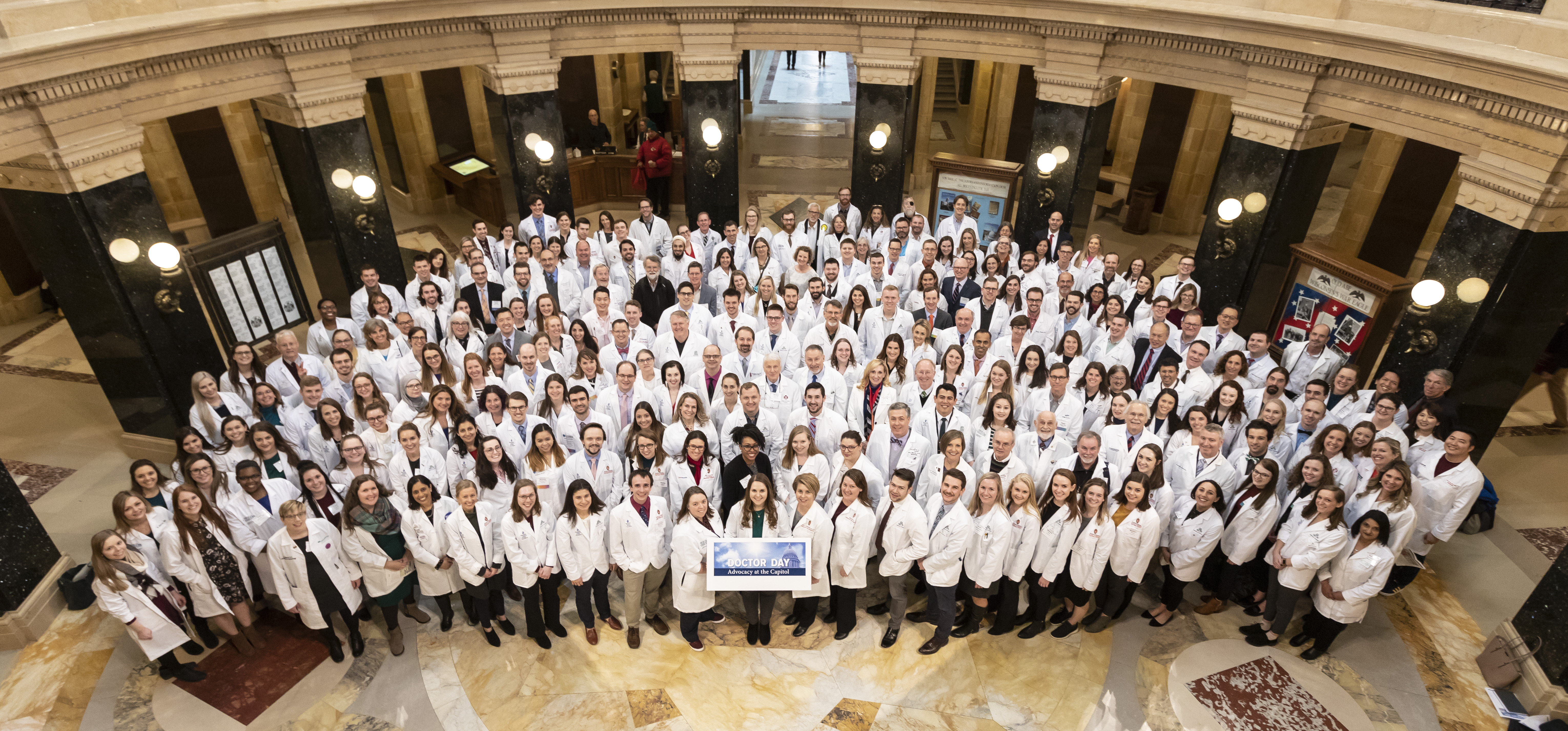 Doctors attending 2020 Doctor Day